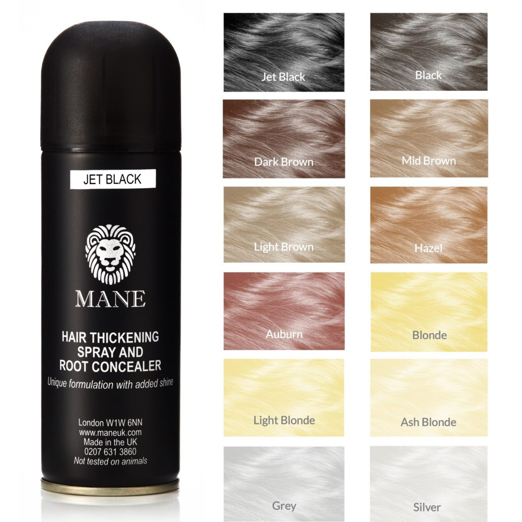 mane hair thickening spray All colours