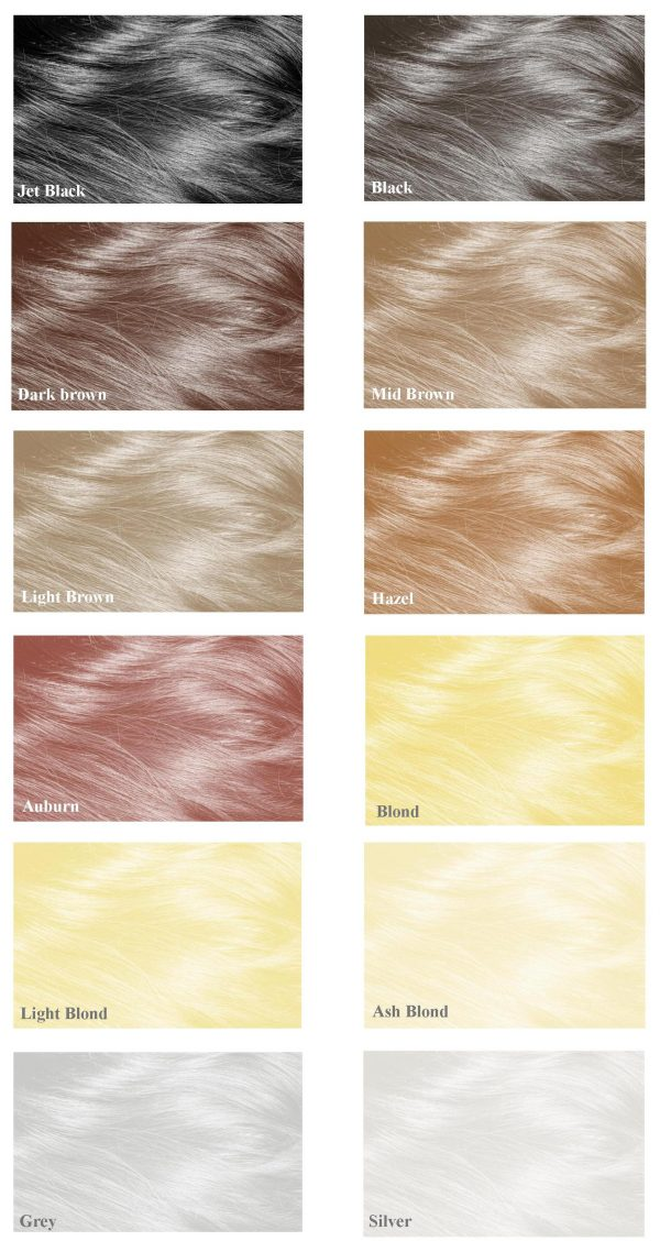 Mane Hair Thickener - available in 12 shades