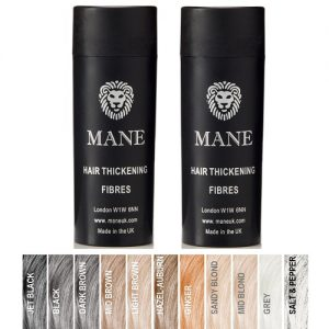 Mane Hair Thickening Fibres Buy 2 – £14.00 each – 15 gr