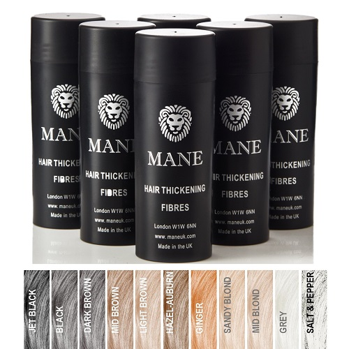 buy 5 mane hair thickening fibres and get 1 free