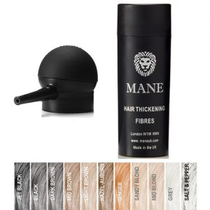 Mane Hair Thickening Fibres and Spray Applicator