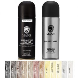 Mane Hair Thickener and Mane Seal & Control – twin pack 200 ml