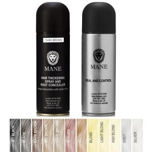 twin pack 200 ml mane hair thickener and 200 ml seal and control