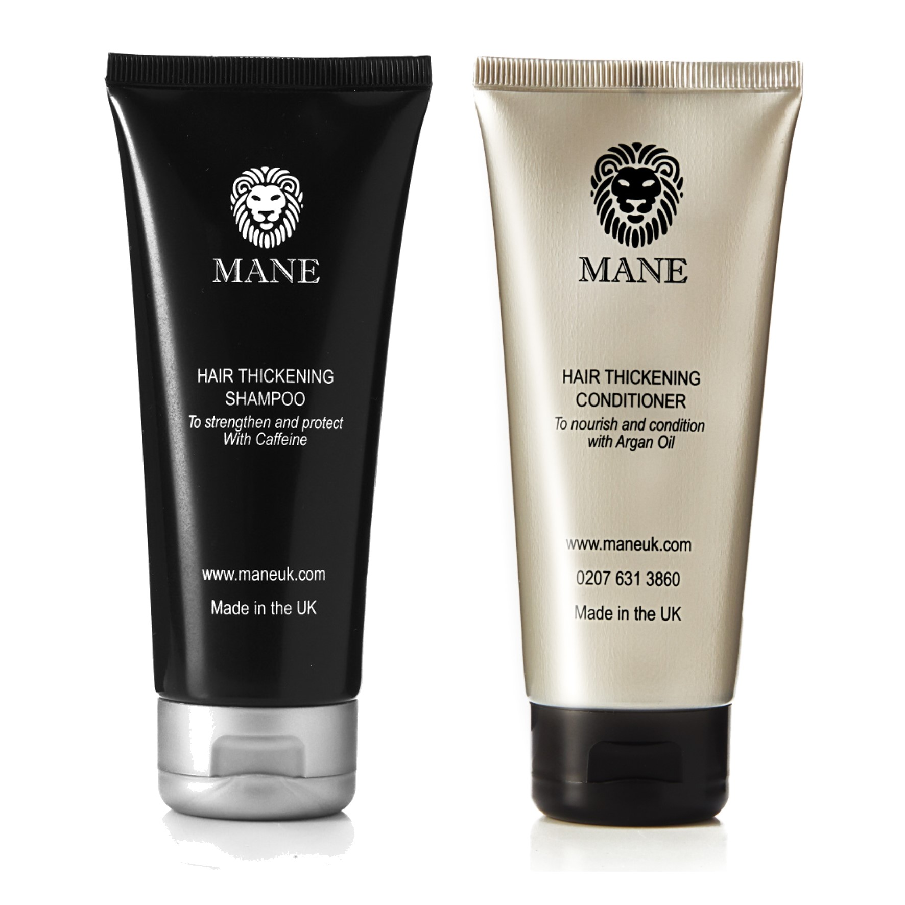 mane hair thickening shampoo and conditioner
