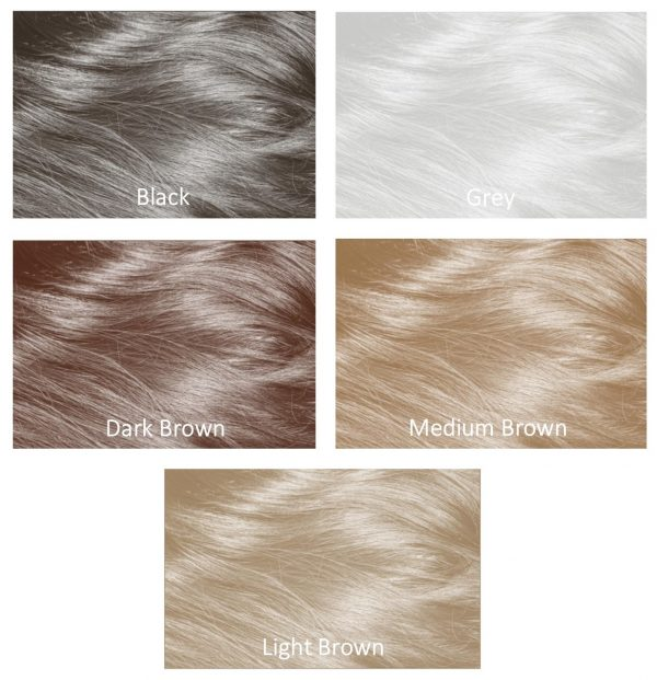 100 ml mane hair thickener colour shades