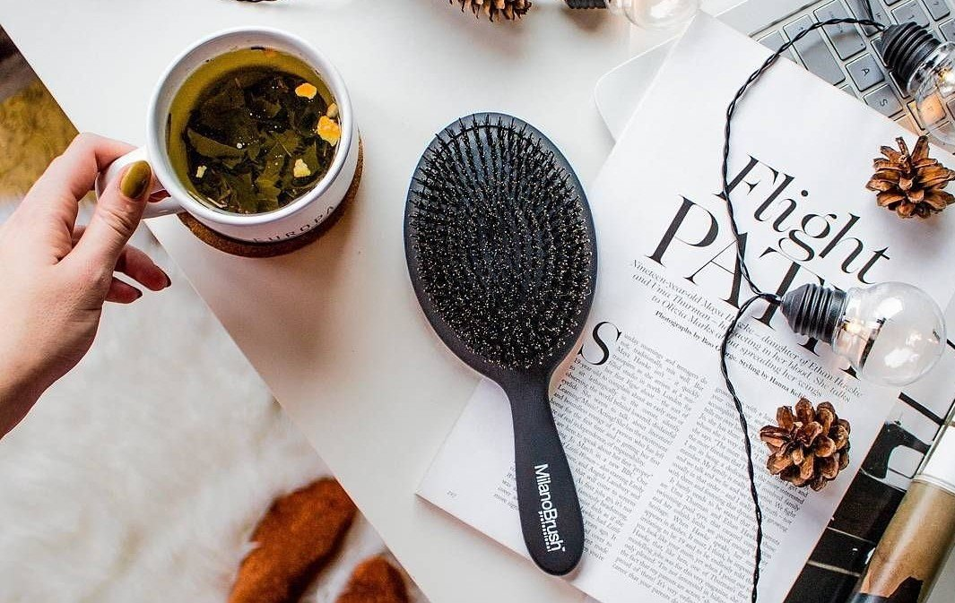 Your hair brush may be contributing to your hair loss