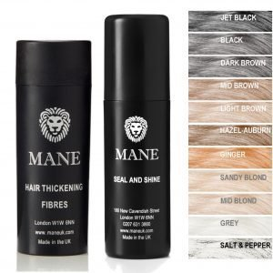 Mane Hair Thickening Fibres with Seal and Shine