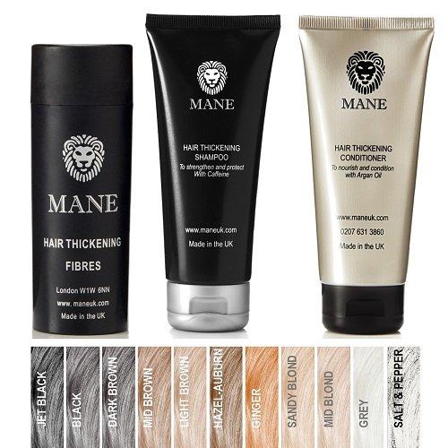 buy mane hair thickening fibres, SHAMPOO & CONDITIONER