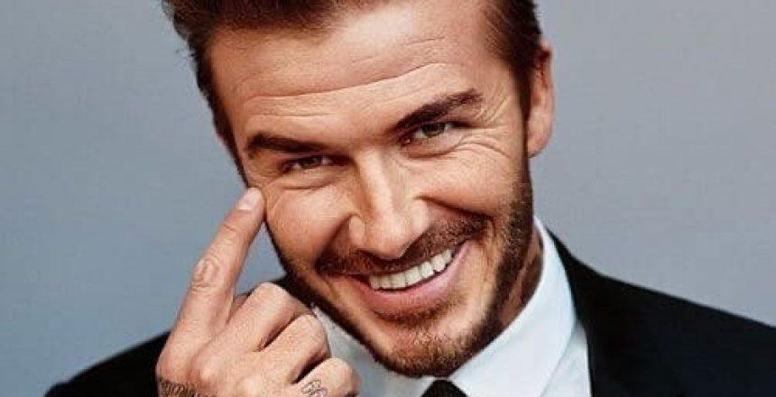 david Beckham and mane hair thickener